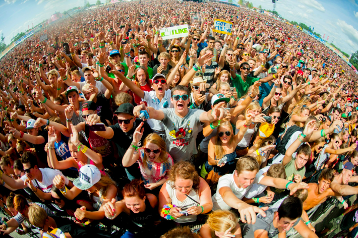 festival goers and brands